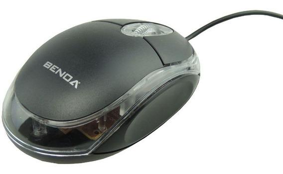 Mouse Óptico Com Fio Usb Para Pc E Notebook Scroll