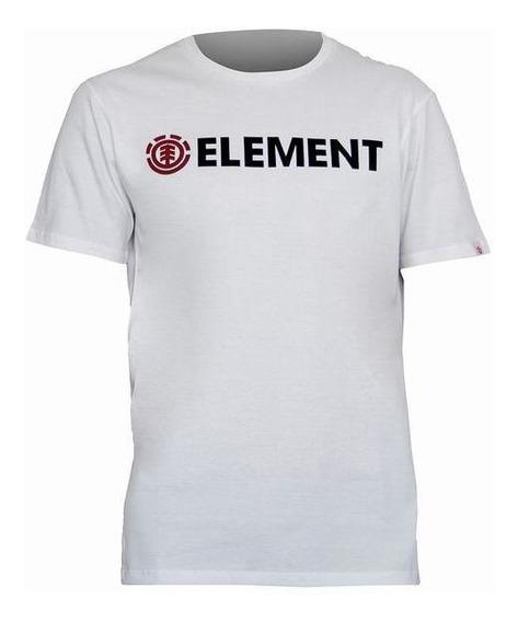 Remera Element M/c Blazin Hombre Blanca