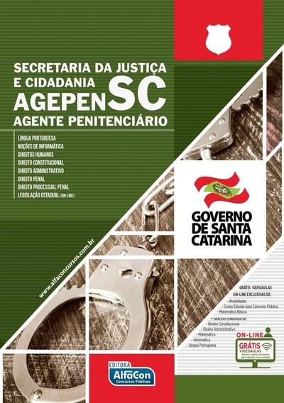 Agente Penitenciário De Santa Catarina - Agepen-sc