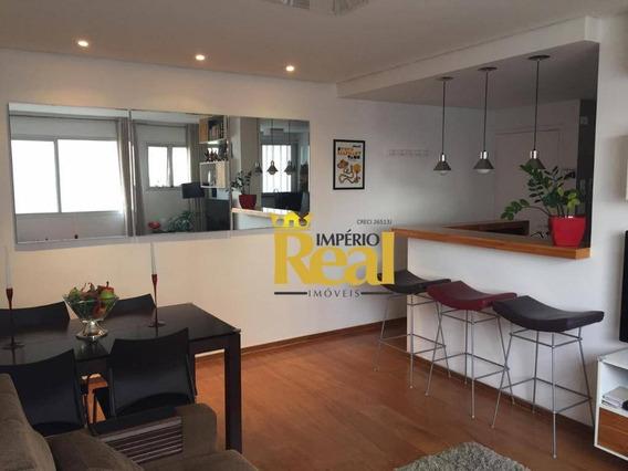 Apartamento Com 2 Dormitórios À Venda, 67 M² Por R$ 720.000 - Sumaré - São Paulo/sp - Ap6344