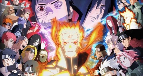 Dvd Naruto Shippuden Dublado 1ª A 5ª Temp 112 Episódios