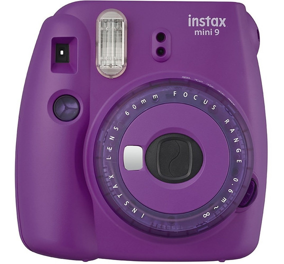 Câmera Instantânea Mini 9 Fujifilm Instax Roxo Açai