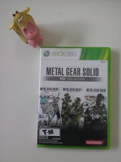 Metal Gear Solid Hd Collection Xbox 360 Garantizado