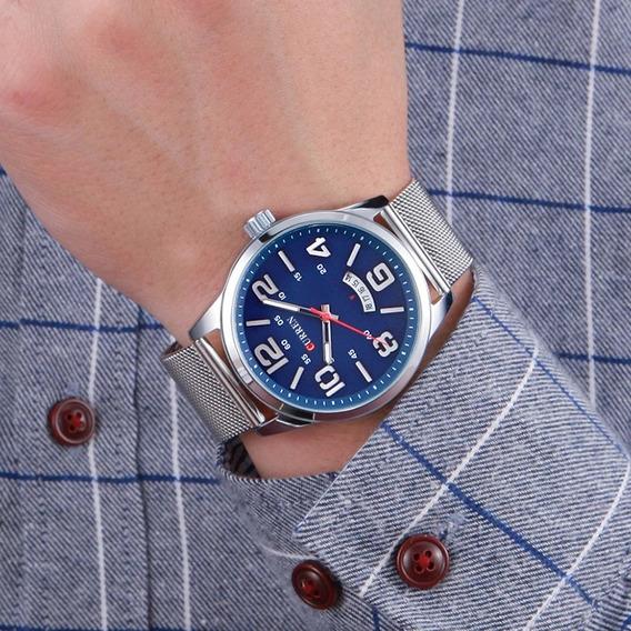 Relógio Curren De Luxo Masculino Produto A Pronta Entrega