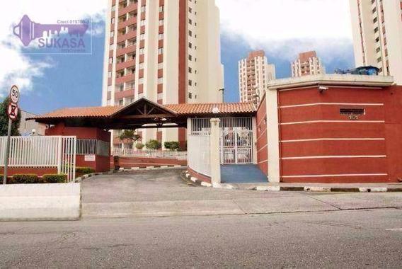 Apartamento À Venda, 55 M² Por R$ 245.000,00 - Jardim Do Estádio - Santo André/sp - Ap0325