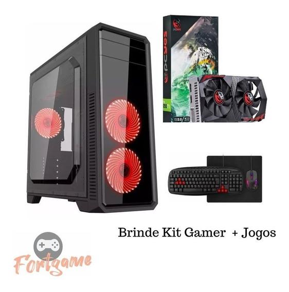 Pc Gamer I5 9400f Gtx 1050 Hd 1tb 8gb 9º Geração + 10 Jogos
