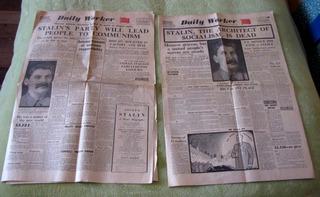 Antiguo Diario, En Ingles 1953