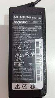 Cargador De Notebook Para Lenovo 20v 3.25a Yoga - Dixit Pc