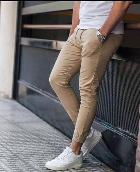 Pantalon Shoguer De Gabardina