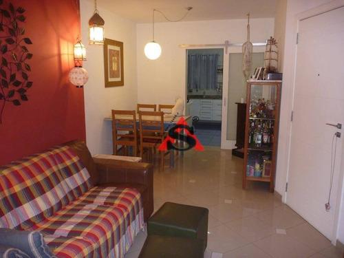Apartamento Com 2 Dormitórios À Venda, 76 M² Por R$ 680.000,00 - Vila Mascote - São Paulo/sp - Ap41620