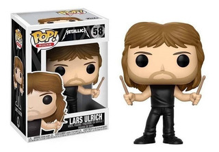 Funko Pop 58 Metallica Lars Ulrich Playking