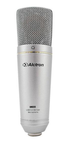 Microfone Usb Condensador P/ Estúdio Pro Com Acessórios Loja