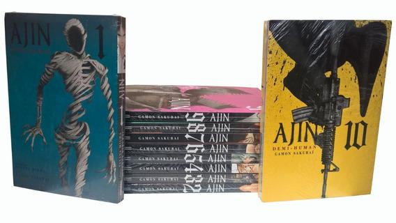 Ajin - Panini - Volumes 1 Ao 10