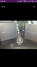 Relógio Fino Marc Jacobs Com Manual E Caixa