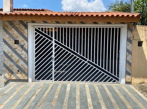 Casa Com 119 M² Sendo  2 Dormitórios, 1 Suíte, 2 Vagas À Venda Por R$ 499.000 - Jardim Utinga - Santo André/sp - Ca0111