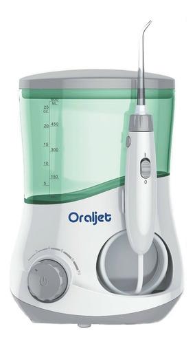 Irrigador oral Oraljet OJ-1200BE branco e verde 100V/240V