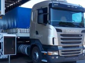 Scania 124 420 Ano 2010 Com Carreta Guerra Ano 2015