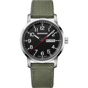 Relógio De Pulso Suíço Wenger Atitude Pulseira De Nylon C/nf