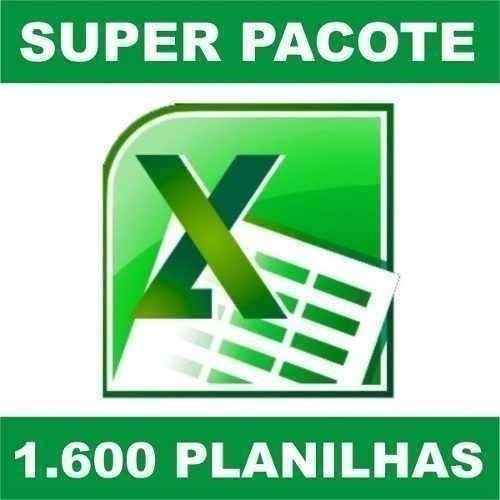 Planilhas Excel 100% Editáveis Frete Grátis