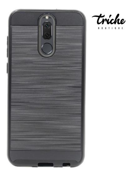 Funda Case Efecto Cepillado Resistente Huawei Mate 10 Lite