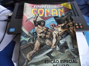 Revista Conan Edição Especial De Luxo N-1 Em Cores 1987