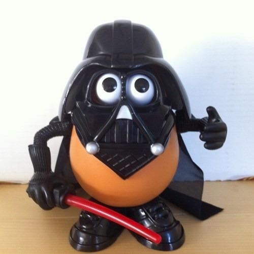 Darth Vader - Mr.potato Head Toy Story Usado.