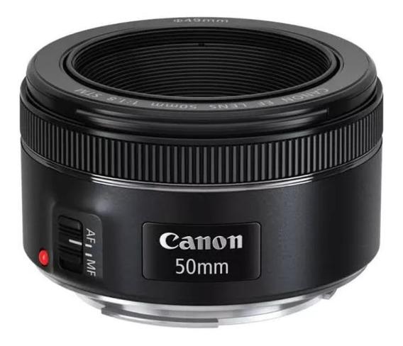 Lente Canon Ef 50mm F/1.8 Stm Auto-foco