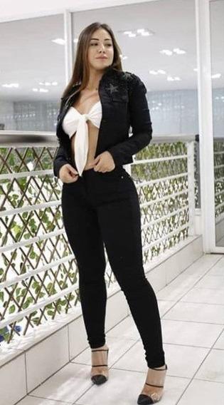 Calça Jeans Modeladora Empina Bumbum (consciencia Jeans)