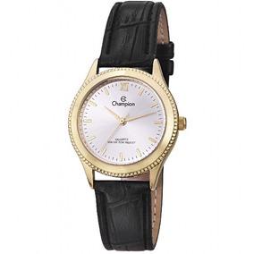 Relógio Champion Original, Novo, Dourado, Unisex, Cn28115b