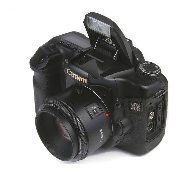 40d + Lente Canon 50mm F1.8