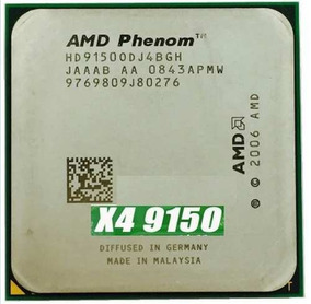 Processador Amd Phenom X4 9150e Quad-core + Coolerbox