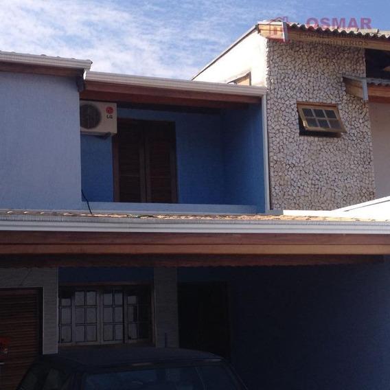 Sobrado Com 2 Dormitórios À Venda, 137 M² Por R$ 470.000,00 - Jardim Macarenko - Sumaré/sp - So0041