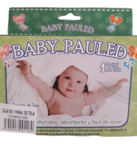 Pañal De Tela Para Bebes Estampados