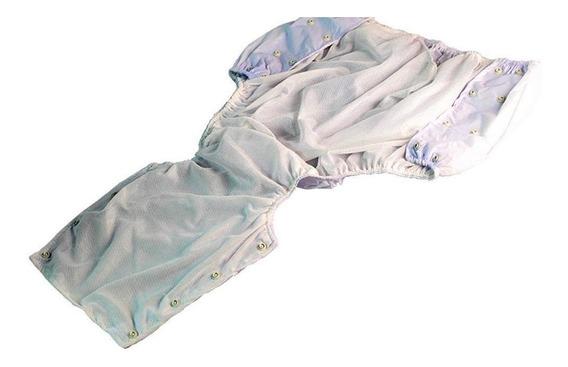 Calça Plastica Geriátrica Adulto Com Botão Tam Eg