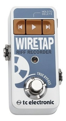 Pedal Wire Tap Tc Electronic Riff Recorder