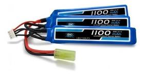 Bateria Lipo 11.1v 3s 1100mha 20/40c Aeg Airsoft