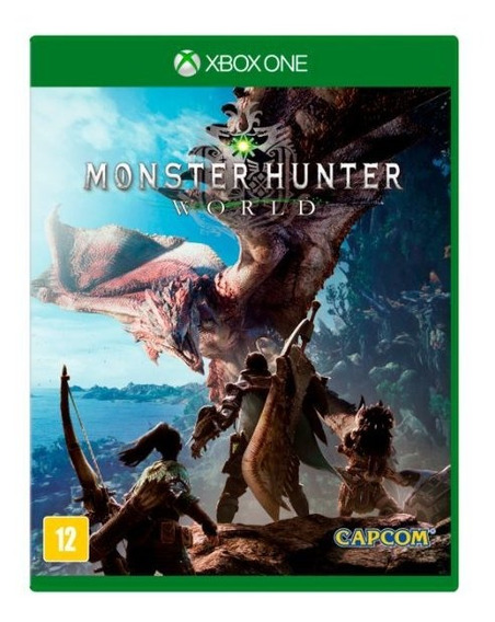 Monster Hunter World (mídia Física Leg Pt-br) Xbox One Novo