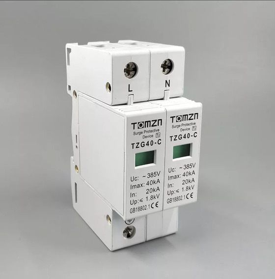 Supresor De Picos Corriente Alterna 2p L Y N 120va Max 385 V