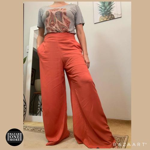 Imagem 1 de 4 de Calça Pantalona