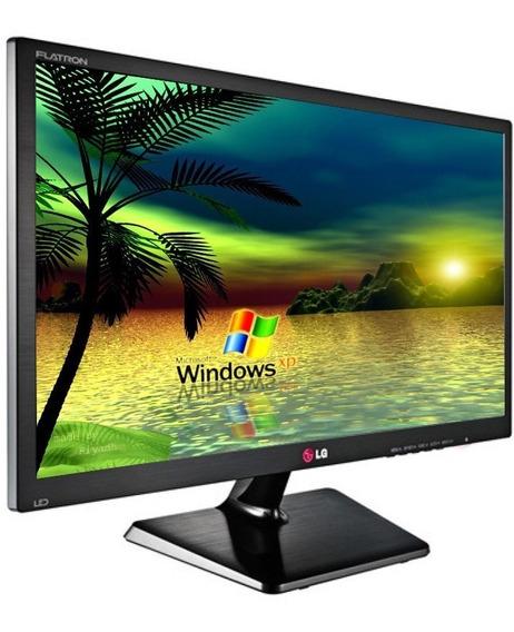 Monitor Led Lg 20 Polegadas Slim D-sub/ Dual Smart Solution