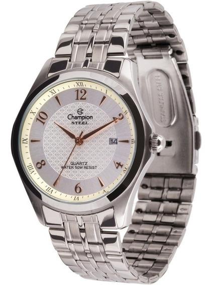Relógio Champion Masculino Steel Ca20607q