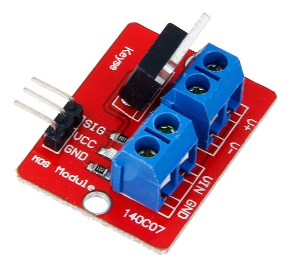 Irf520 Mosfet Módulo De Interruptor De Carga Para Arduino 5a