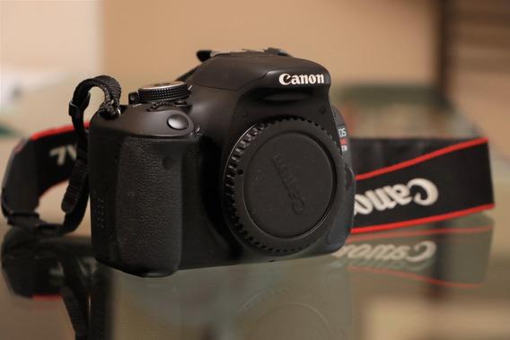 Câmera Dslr Canon Eos Rebel T3i (somente Corpo)