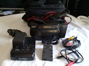 Camera Filmadora Vhs Jvc Gr-ax808 Com Acessórios No Estado