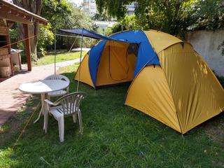 Carpa 6 Personas 2 Dormitorios Iglu Calafate