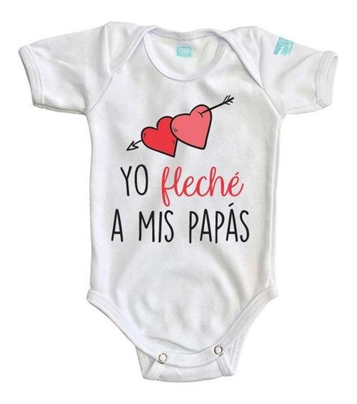 Pañalero Yo Fleche A Mis Papas San Valentín Bebé