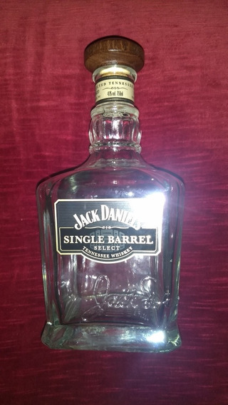 Botella Whiskera Whiskey Licorera Jack Daniels Single Barrel