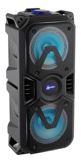 Caixa De Som Lenoxx Portátil Bluetooth 200w Ca-400 - Bivolt