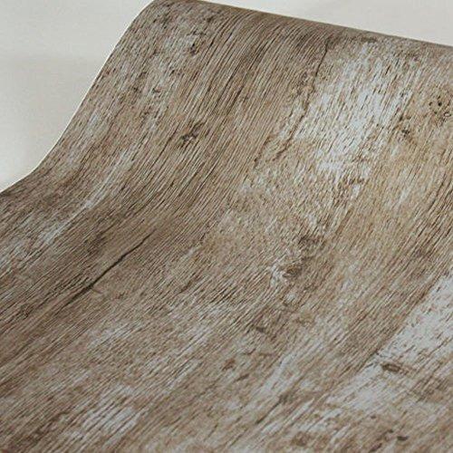 Simplelife4u Modern Wood Grain Contact Paper Self-adhesive