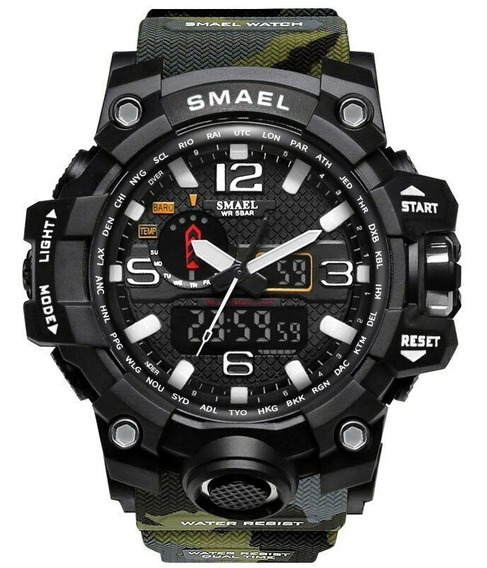 Relógio Smael Militar Prova D